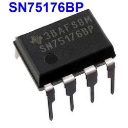 SN75176BP DIFFERENTIAL BUS TRANSCEIVER RS-485/RS-422