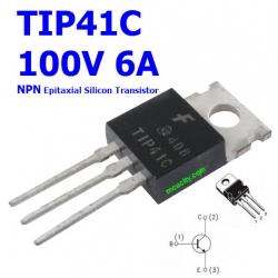 TIP41C NPN 100V 6A