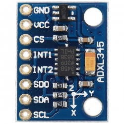 GY-291 ADXL345 digital three-axis acceleration of gravity tilt module IIC / SPI