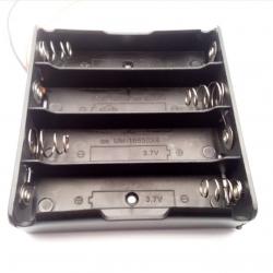 ลังถ่านขนาด 18650 สำหรับ 4 ก้อน (Lithium battery pack 14.8V )
