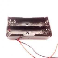 ลังถ่านขนาด 18650 สำหรับจำนวนถ่าน 2 ก้อน (Lithium battery pack 7.2V )