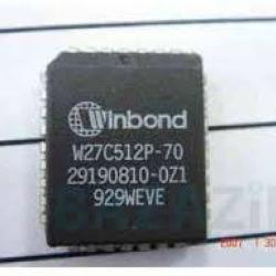 W27C512 PLCC32 (EPROM 512Kbit(64KB))