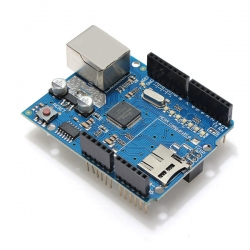 Ethernet Shield Module W5100 Micro SD Card Slot For Arduino UNO MEGA (V5)
