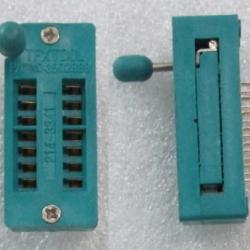 ZIF Socket 14 Pin Universal ZIF DIP Tester IC - ขาทอง (GOLD PIN )