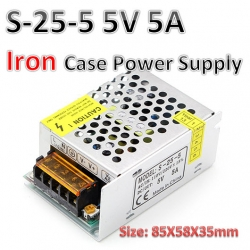 5V 5A switching power supply (S-25-5)
