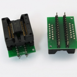SOIC28 Socket 300mil to DIP28 Adapter(SOIC16W,SOIC20,SOIC28 to DIP28)