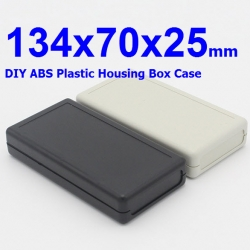 134x70x25mm DIY ABS Plastic Housing Box Case