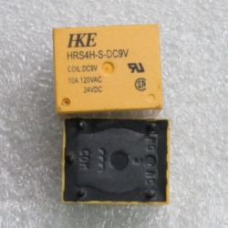 HRS4H-S-DC9V Relay Coil 9 VDC, 1 Form C (SPDT) Contact Rating 10A