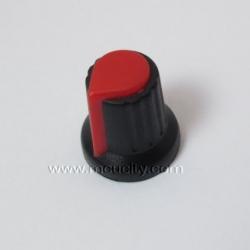 ลูกบิดพลาสติก สำหรับ โวลลุ่ม (สีแดง)