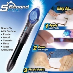 5 Sec.Glass Welding Compound Glue UV Light Quick Fix Liquid Repair Tool
