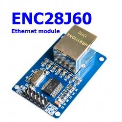 ENC28J60 SPI interface network module Ethernet module