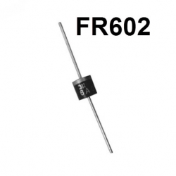 FR602 100V 6A Fast Recovery Diode