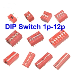 DIP switch 1P-12P