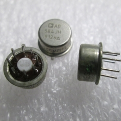AD584JH Pin Programmable Precision Voltage Reference (2.5V/5V/7.5V/10V 10mA 8-Pin TO-99)