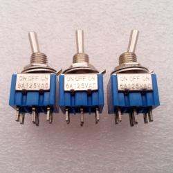 MTS-203 6A 125VAC (ON--OFF--ON)