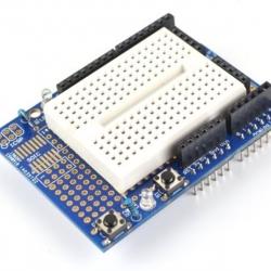 Arduino ProtoShield Mini Prototype Shield พร้อม Mini Breadboard