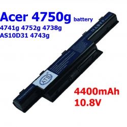 Acer 4750g battery 4741g 4752g 4738g AS10D31 4743g laptop battery