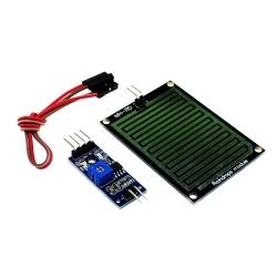 Rain Sensor Water Raindrops Detection Module For arduino Raspberry Pi