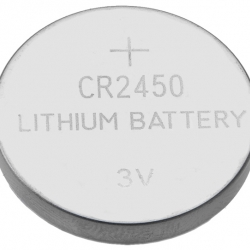 CR2450 3V Lithium Button Coin Battery for watches, toys,calculator etc.