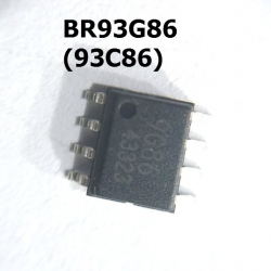 BR93G86 (93C86) (SOIC8) MICROWIRE SERIAL EEPROM 16K (2048 x 8 or 1024 x 16)