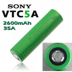 Sony VTC5A US18650VTC5A 2600mAh continuous 35A discharge (ของแท้)
