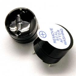 Active Buzzer 5V (บัซเซอร์ รวมวงจรกำเนิดความถี่ เข้าไว้ในชิ้นเดียวกัน)