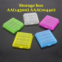AA(14500) AAA(10440) Battery Protective storage box