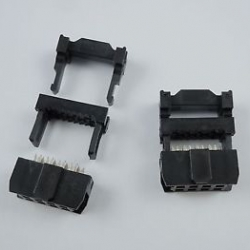 2x4pin IDC Socket Female (Pitch 2.54mm)