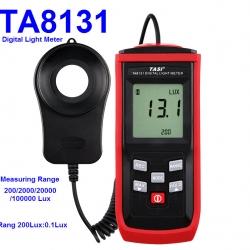 TA8131 100000 Lux split Digital LCD backlight Pocket Light Meter Lux/FC Measure Tester Visible brightness luxmeter