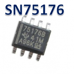 SN75176 SOP8 TRANSCEIVER RS-485/RS-422