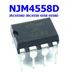 NJM4558D JRC4558D JRC4558 DUAL OPERATIONAL AMPLIFIER