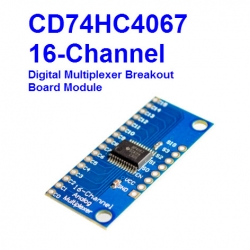 CD74HC4067 16-Channel Analog Digital Multiplexer Board Module