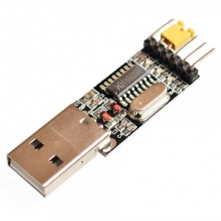 CH340G CH340 module of USB TO TTL turn USB serial port module UART downloader (แถมสาย 4 เส้น)