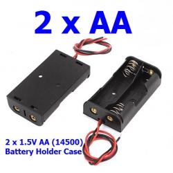 2 x AA รางถ่าน AA (14500)