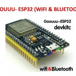 Goouuu-esp32 ESP32 Development Board Wireless WiFi+Bluetooth 2 in1 Dual Core
