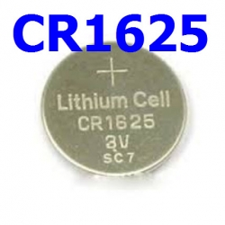 CR1625 3V Lithium Button Coin Battery for watches, toys,calculator etc