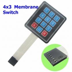 4x3 Membrane Switch Keypad Keyboard 3*4 Control Panel Keyboard for Arduino 12 Keys