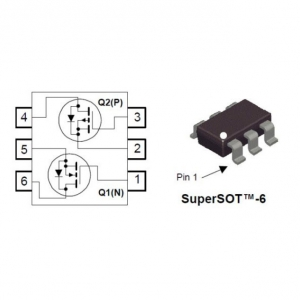 FDC6420C 20V (SOT23-6) N & P-Channel PowerTrench® MOSFETs