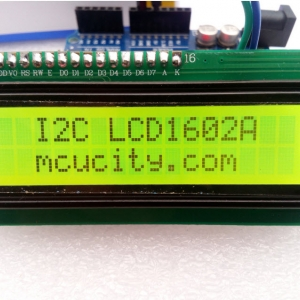 IIC/I2C/TWI 1602 16x2 Serial LCD Module Display for Arduino (GREEN)