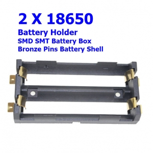 SMD 18650x2 Battery Storage Box charger High Quality