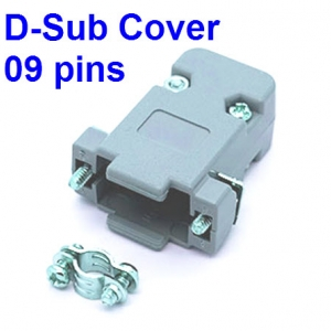 D-Sub Cover 9 pins DB9 Female male RS232