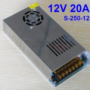 12V 20A (220V to 12V) switching power supply (S-250-12)