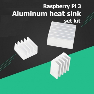 Raspberry Pi 3 aluminum heat sink set kit