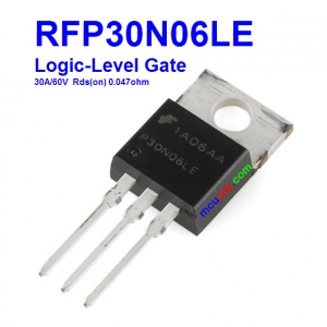 RFP30N06LE P30N06LE Logic-Level 30A/60V Rds(on) 0.047Ohm N-Channel