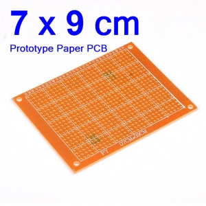 7x9cm แผ่นปริ๊นอเนกประสงค์ Prototype PCB