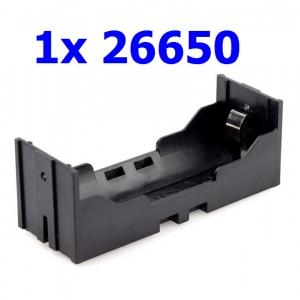 รางถ่าน 26650 แบบ 1 ก้อน 3.7V