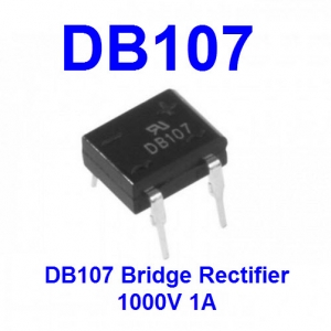 DB107 Diode Bridge Rectifier 1000V 1A