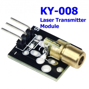 KY-008 Laser Transmitter Module for arduino Compatible with UNO MEGA 2560