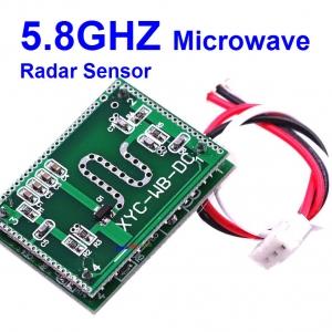 5.8GHZ Microwave Radar Sensor Module 6-9M Home Control 5.8G DC 3.3V-20V