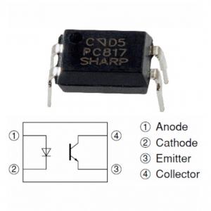 PC817 (DIP4) Optoisolators